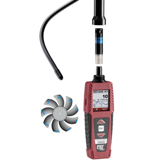 Multifunktions‐Detektor 500GD